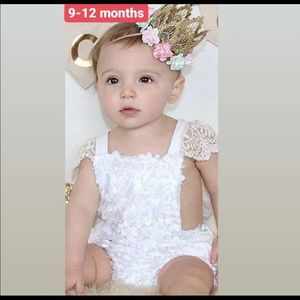 9-12 months Boho Chic outfit dress